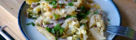 Broccoli sausage casserole